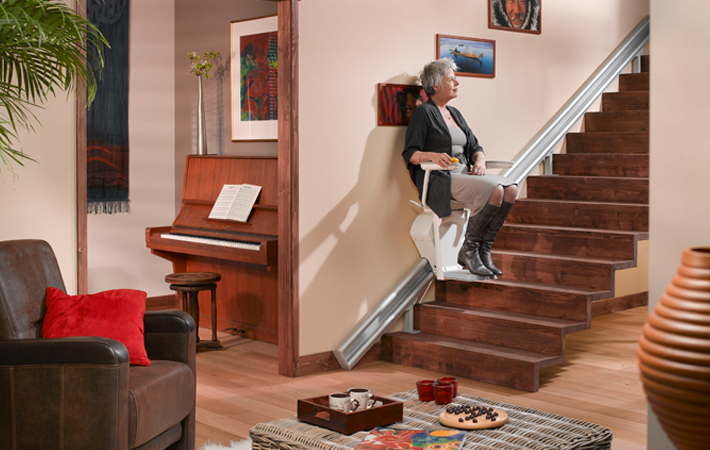 One of the thinnest stairlifts available
