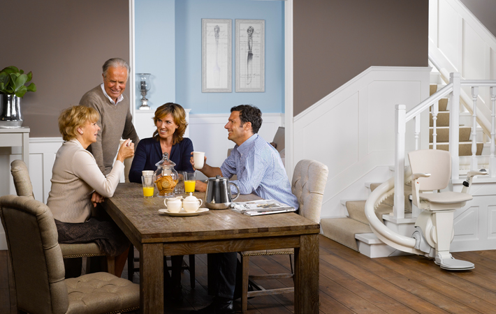 Otolift TWO Comfortable & Compact Stairlift