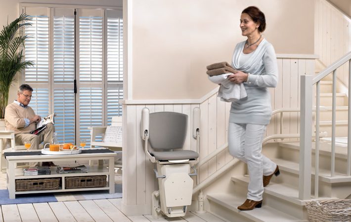 Compact & comfortable stairlifts